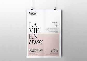 le branding design chic 02 fashion lifestyle