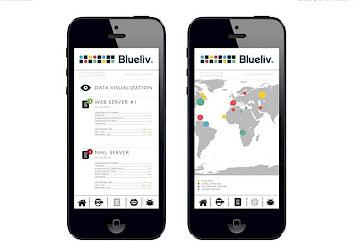 move design blueliv technology app 16 branding engineering
