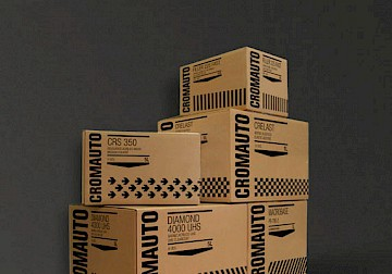 22 branding engineering packaging technology cromauto move design
