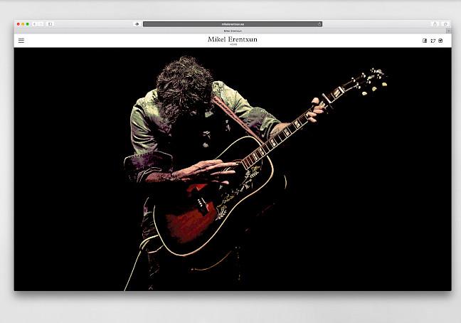 erentxun digital move website 02 fans culture mikel branding