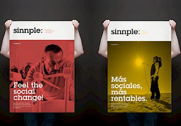website branding design 23 narrative identity sinnple consultancy move