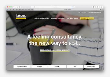 move ieteam consulting website design branding 13