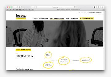 ieteam consulting move branding 15 website design
