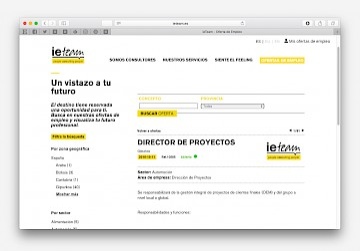 website ieteam move design branding 16 consulting