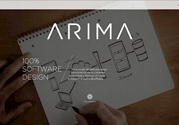 consultancy desing move branding software arima 15 website