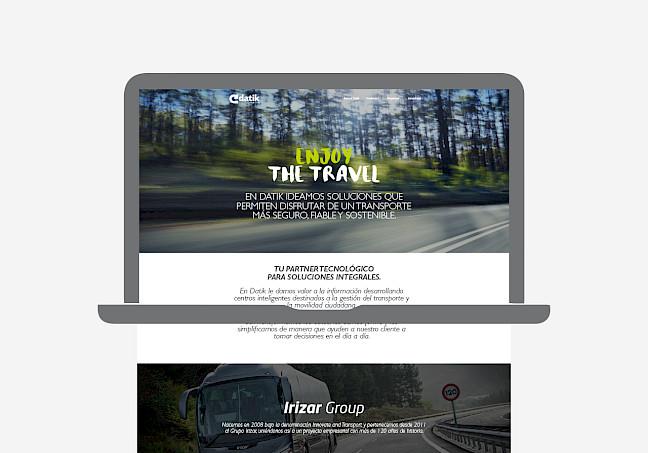 consultancy responsive narrative branding identity design datik 10 move website