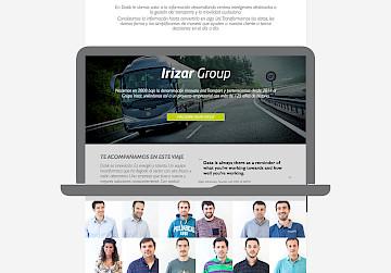 consultancy narrative branding responsive datik design 11 move website identity