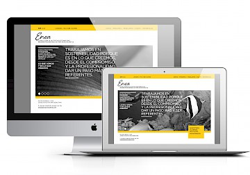 move logo website branding enea 24 consultancy identity