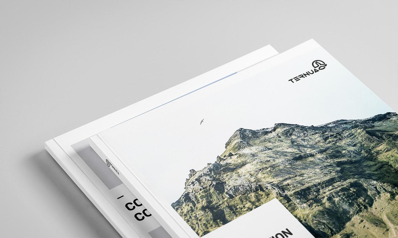 ternua brand book 02 digital branding catalogue design move