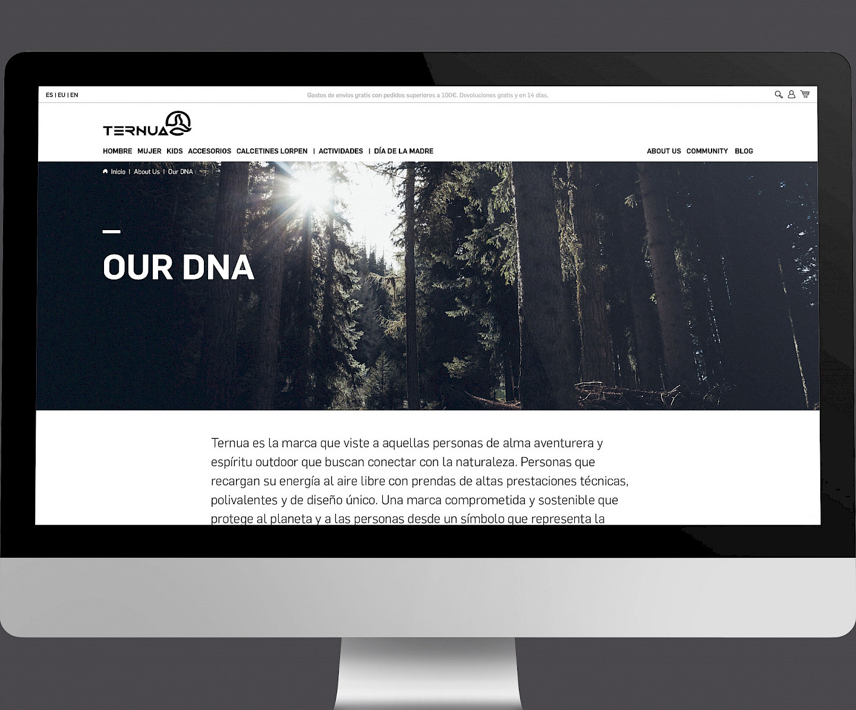 branding design move ternua 02 digital website wireframe