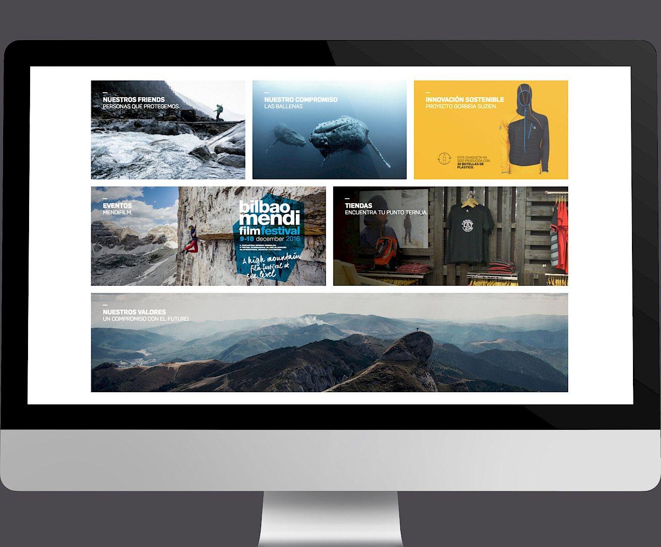 branding website digital design ternua move wireframe 05