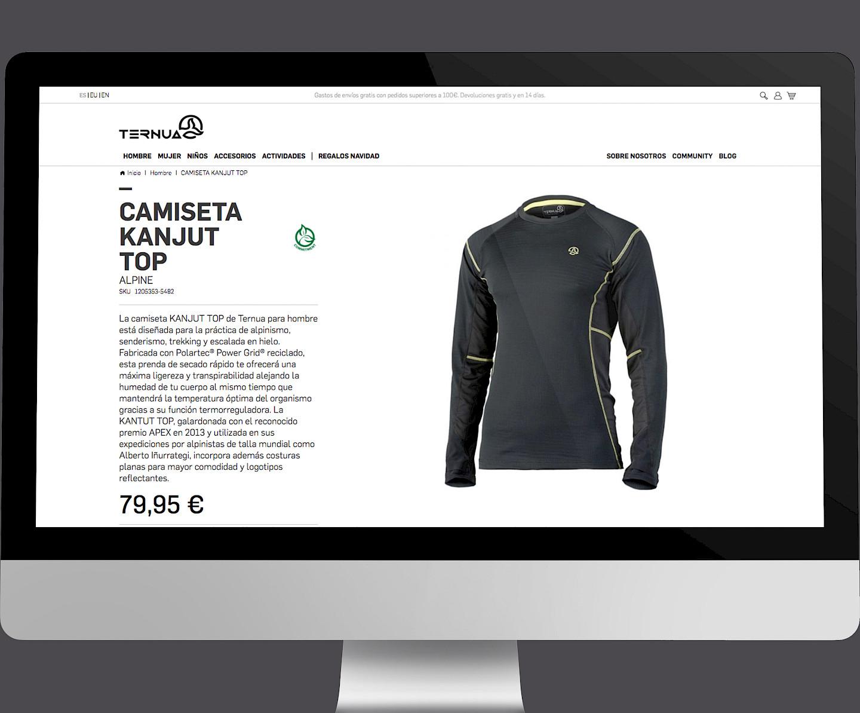 move ternua 09 website design branding digital wireframe