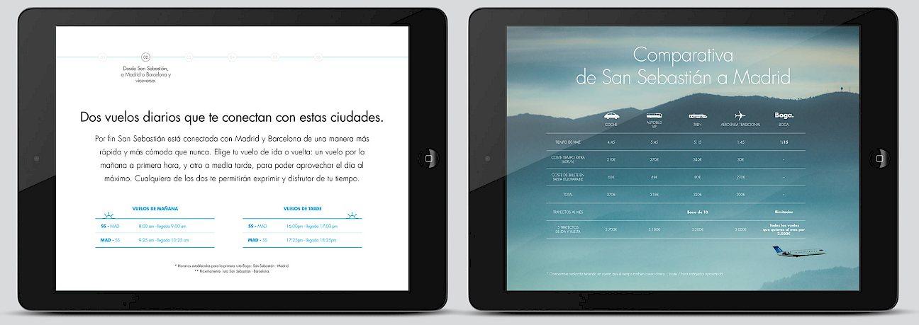 move 01 boga design digital dossier app branding presentacion airline