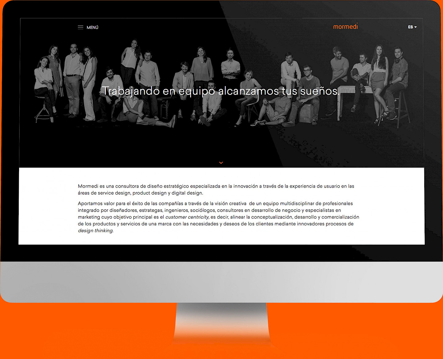 digital 02 website narrative design mormedi consultancy move