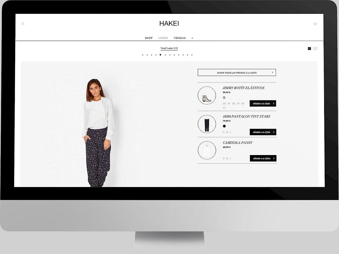 web hakei 03 digital fashion branding website move design