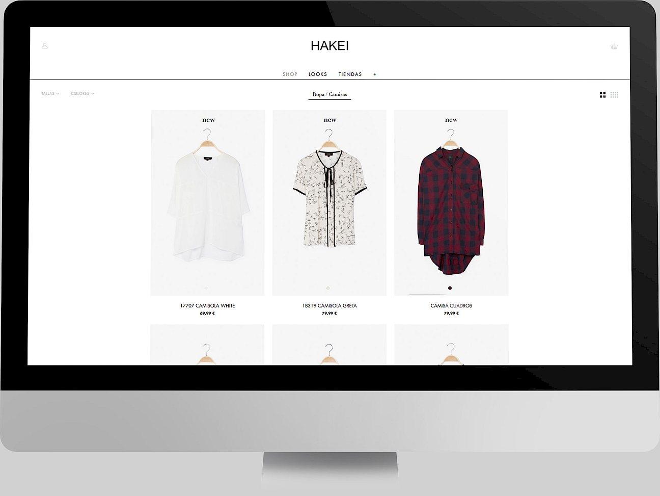 05 hakei web branding digital move website fashion design
