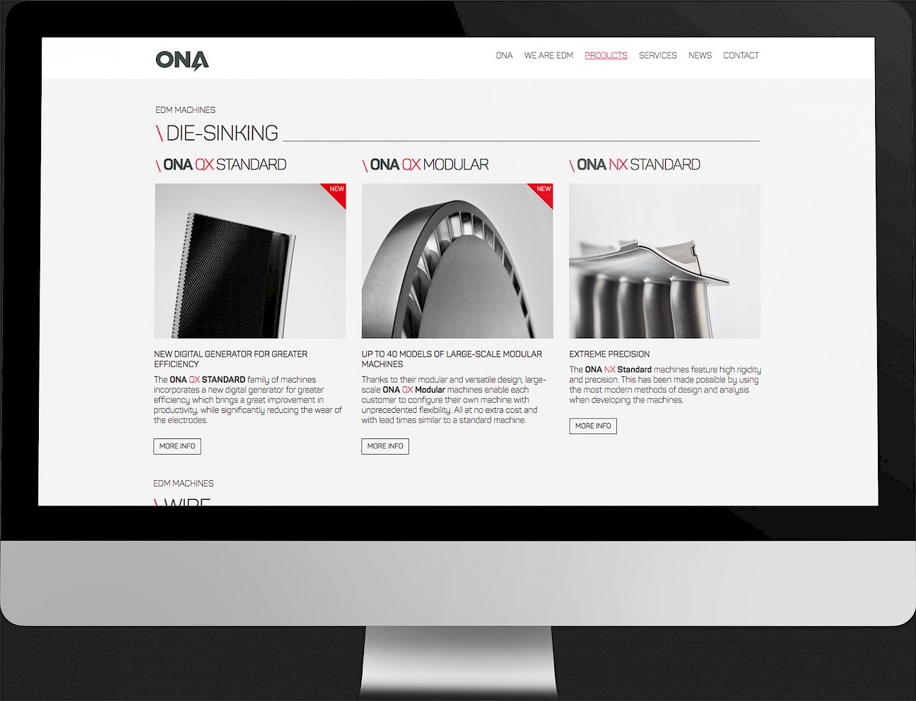 digital ona technology website spaces 03 branding narrative move design