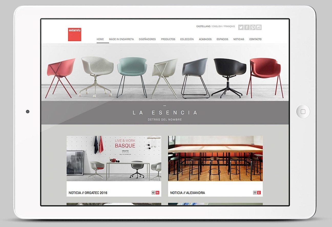 01 lifestyle spaces website fashion ondarreta branding digital interorismo art direction photo