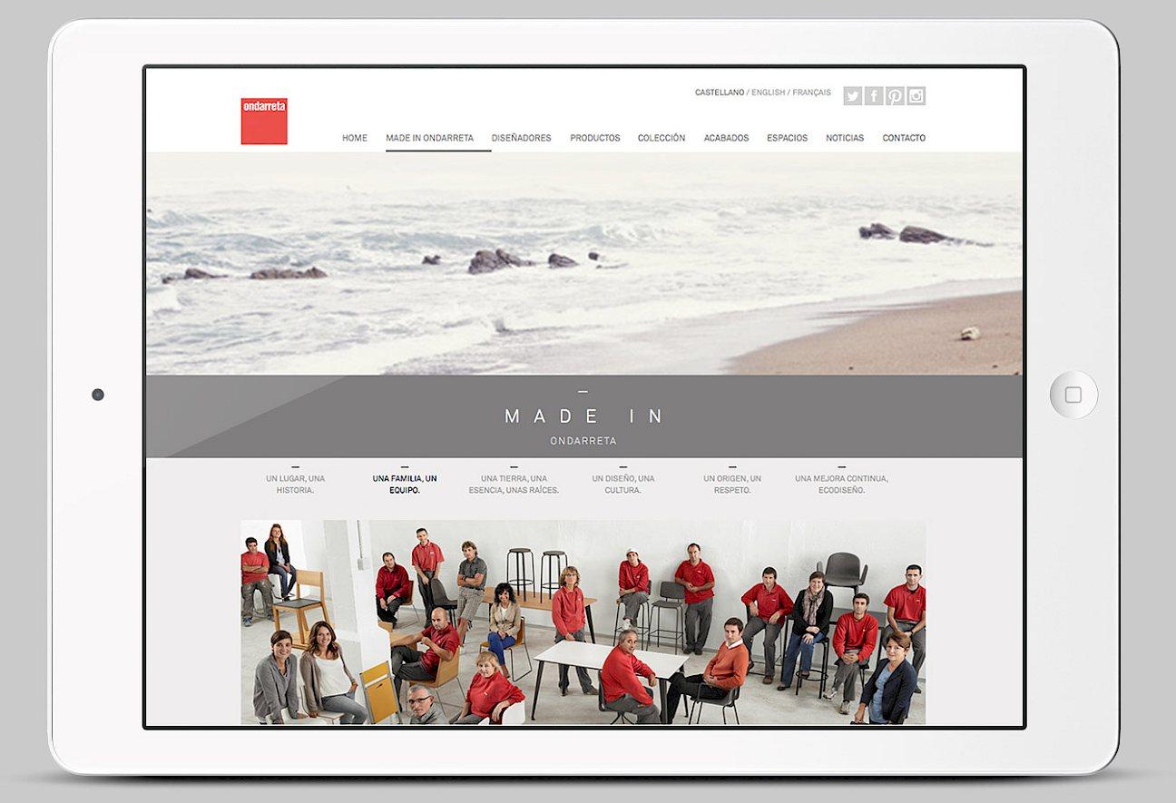 spaces interorismo website fashion art branding ondarreta 02 digital lifestyle photo direction