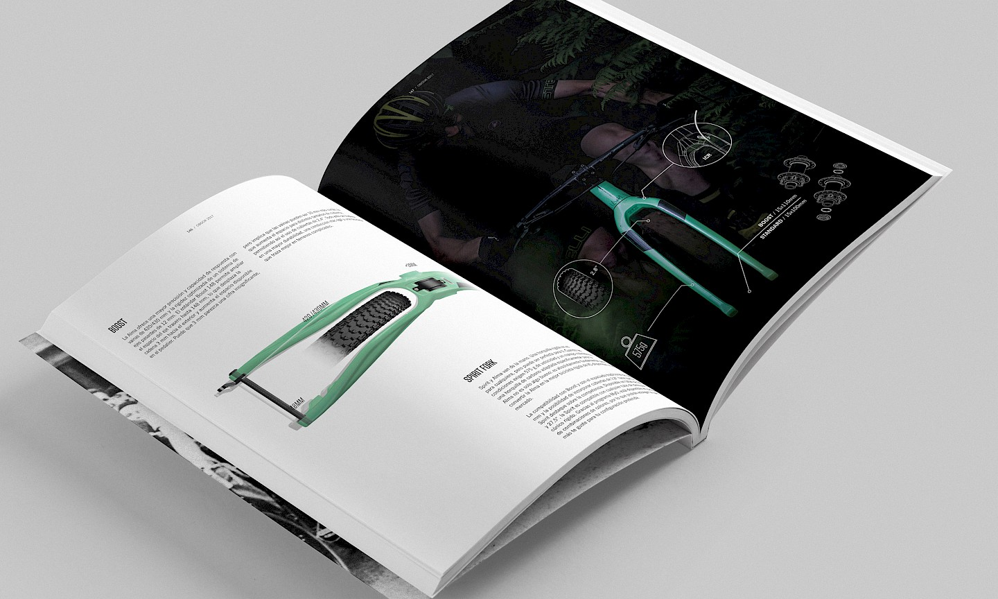 spaces 02 lifestyle print orbea narrative magazine design branding move sports