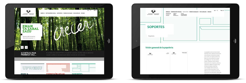 digital art portal app design narrative move culture marca de upv branding typography 01