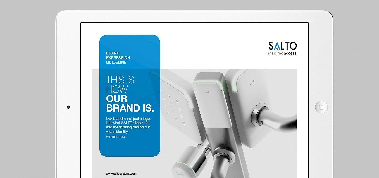 accesos print control de salto brand technology 001 branding book subbrands engineering move animacion