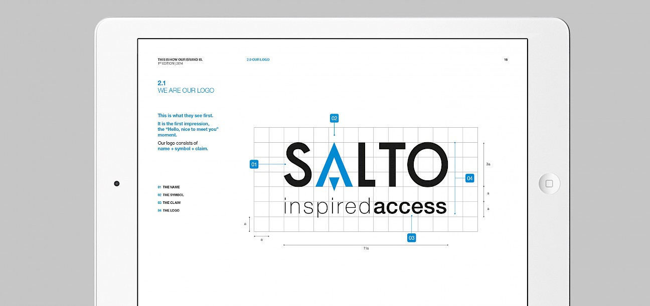 salto branding technology accesos engineering de animacion 004 control move book print brand subbrands