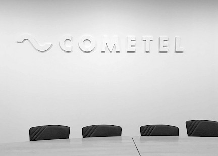 02 technology move factory design cometel branding