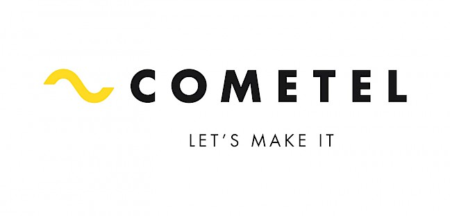 cometel move technology claim 2 logotipo branding design