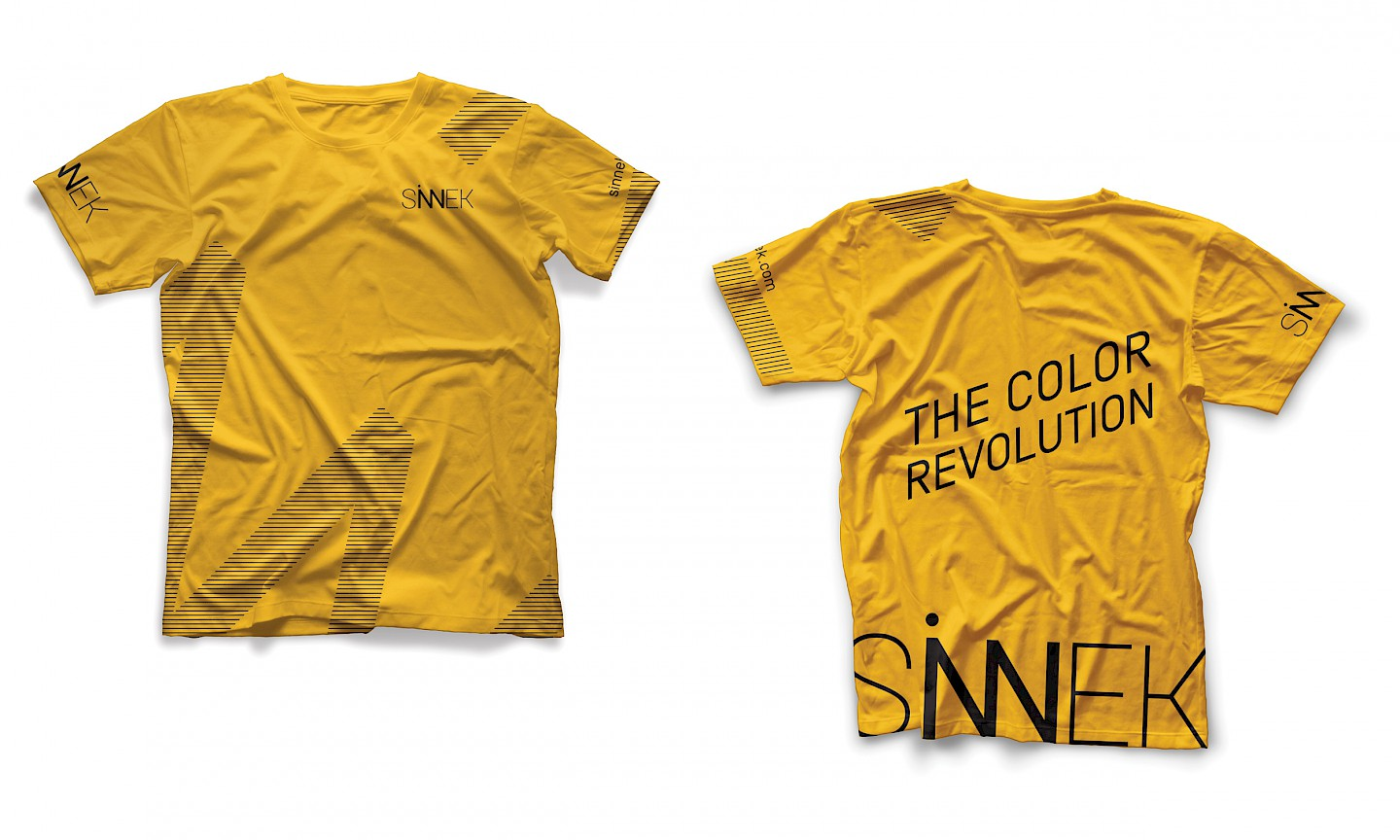 move camiseta sinnek branding