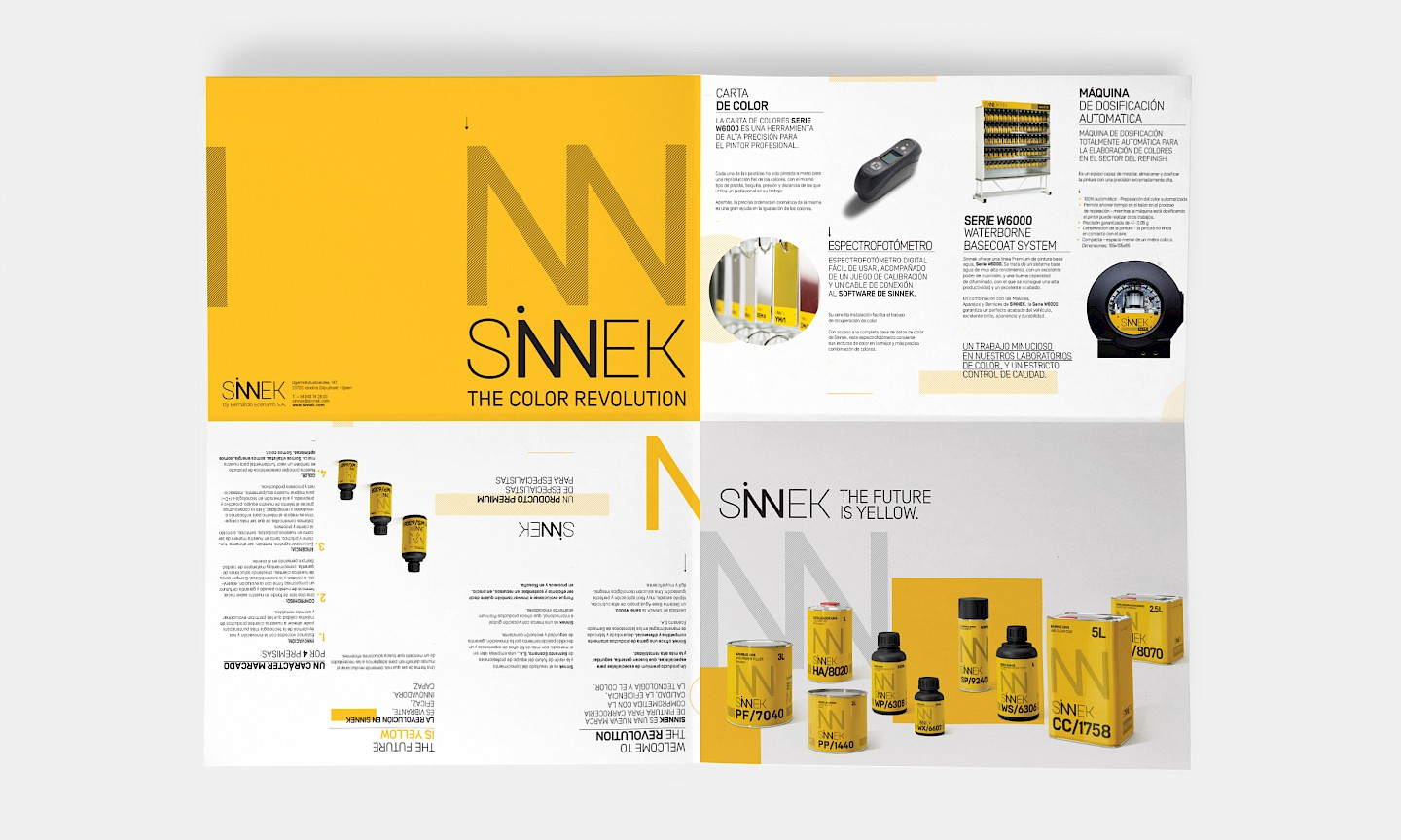 sinnek move desplegable branding