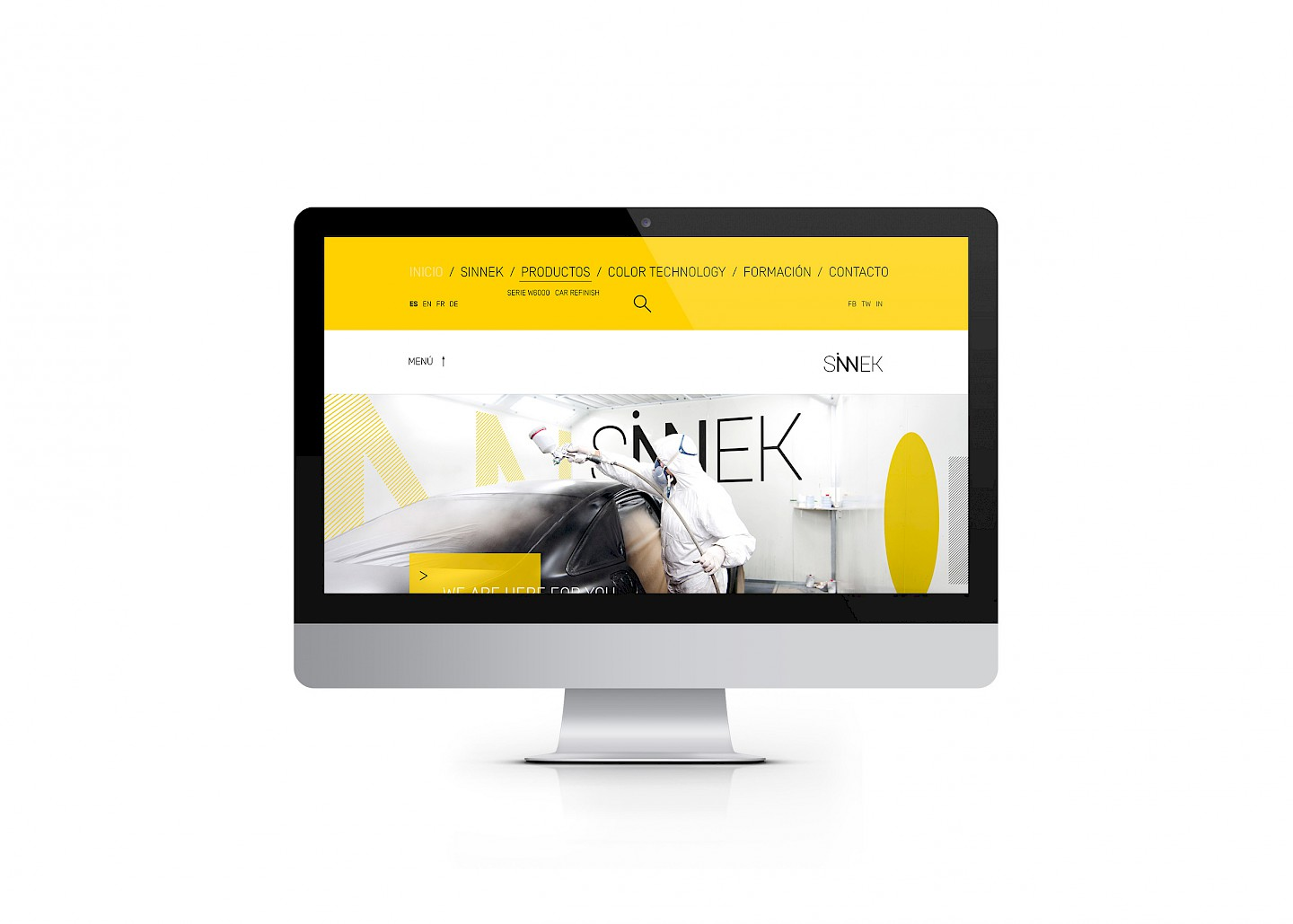 web sinnek move branding
