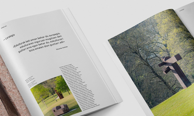 revistas culture detalle museo move branding digital chillida leku imagen