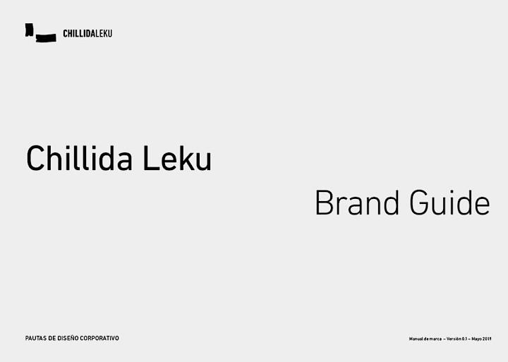 digital chillida 00 branding de leku culture marca guia move museo