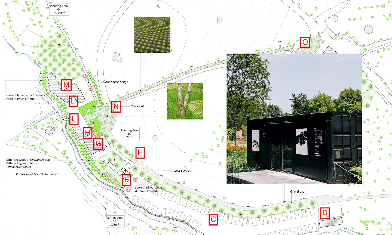 museo 01 senaletica leku 2 naturaleza signal branding digital culture chillida move