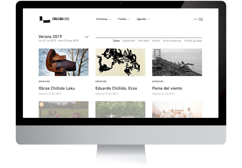 museo website leku move media 02 chillida digital culture branding social