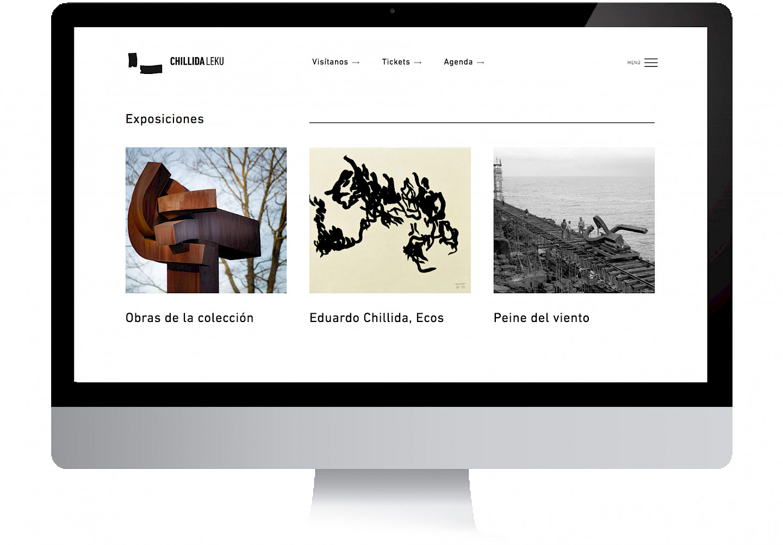 move social chillida 03 media digital website culture branding museo leku