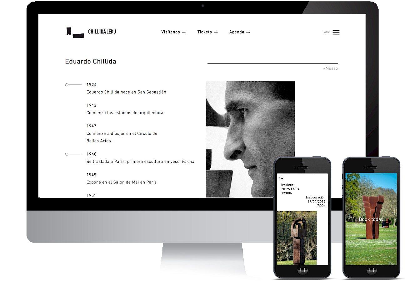 04 media chillida culture leku website social branding digital move museo