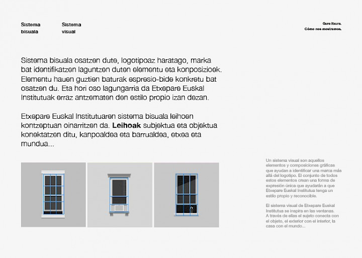 02 branding etxepare digital spaces brandbook design move narrative