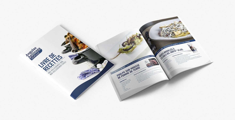 aguinaga move design catalogo seafood angulas branding