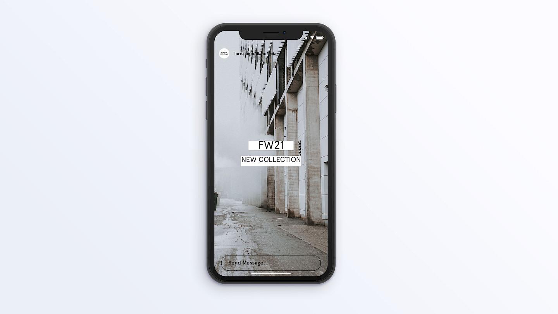 case 1 loreak fw21 iphone lm mendian